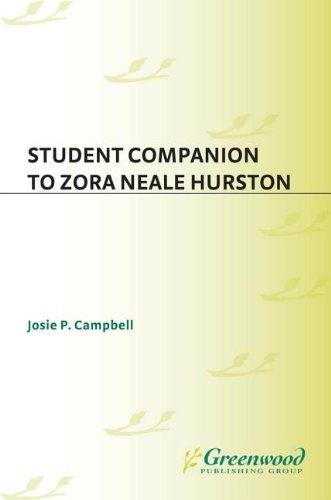 Search : Student Companion To Zora Neale Hurston