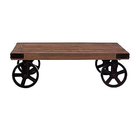 Vical Home-Mesa baja con ruedas para taller de madera ...