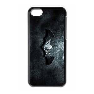Batman_001 TPU Cell Phone Case For iphone 5c Black