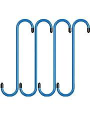 Bzocio 4 Pcs Brake Caliper Hangers Brake Caliper Hooks with Rubber Tips Automotive Tool for Breaking, Bearing, Suspension Work