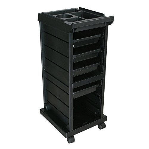 Modern Elements JLS-100X Salon Trolley Cart (Cart Roller Trolley)