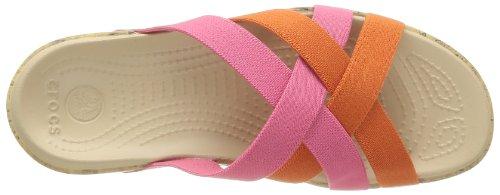 Crocs Edie, Ballerines femme Rose (Hot Pink/Cerise)