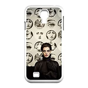 Customizes Anne Hathaway for SamSung Galaxy S4 I9500 case S4-brandy-140023