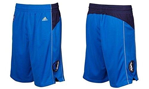 NBA Dallas Mavericks Youth Boys 8-20 Replica Road Shorts, Large (14/16), Blue
