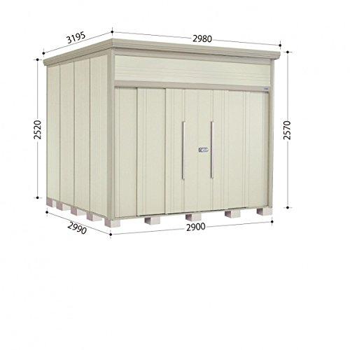 タクボ物置 JN/トールマン JN-2929 一般型 標準屋根 『屋外用中型大型物置』 ムーンホワイト B00ADLAVNM