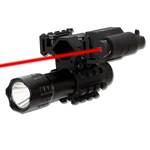 Trinity 180 Lumens Flashlight and RED Laser KIT with Mount Fits Mossberg Youth 510
