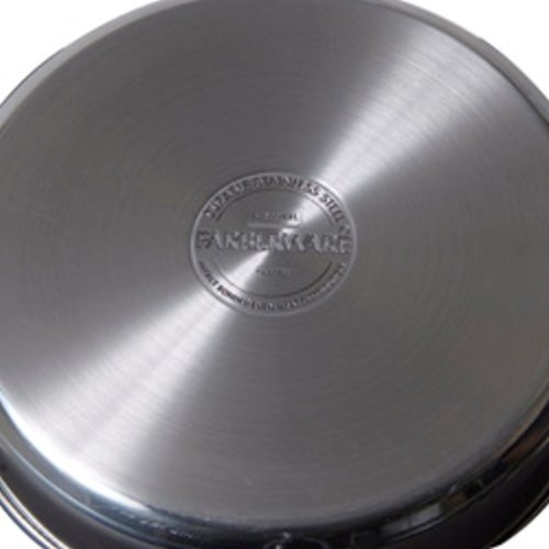 Farberware Classic Series Stainless Steel 10 Inch Covered Frypan by Farberware
