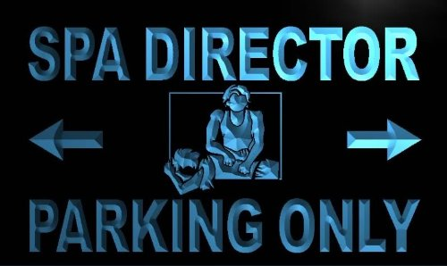 Spa Director Parking Only LED Sign Neon Light Sign Display m411-b(c) by AdvPro 3D Sign (Image #4)