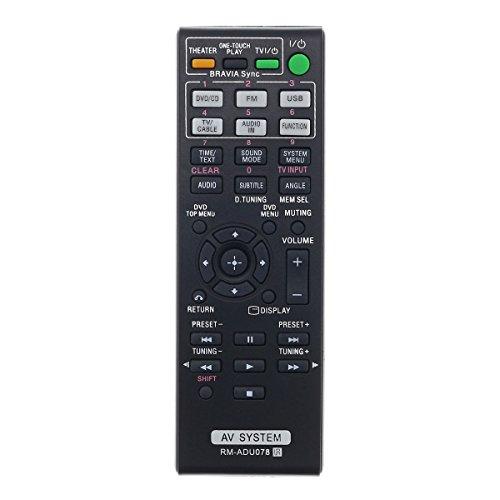 Aurabeam RM-ADU078 Replacement AV Remote Control for Sony Bravia Home Theater System (RMADU078 / 148764111) by AuraBeam