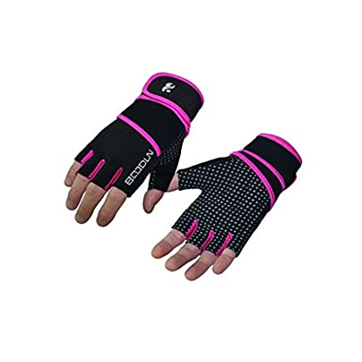 Acme Made Bicycle Half Finger Gloves Gel Fingerless Gloves Fitness Bike Antiskid Wristbands For Sports Cycling Cycling Gloves Weightlifting Estimated Price £12.62 -