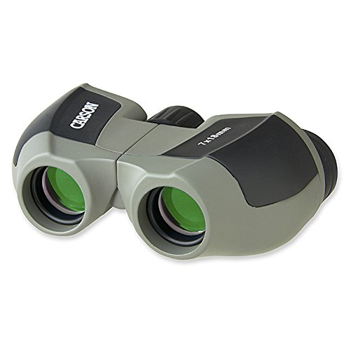 Carson MiniScout 7x18mm Ultra Compact and Lightweight Binoculars for Sight Seeing, Bird Watching, Concerts, Sporting Events, Safari, Hunting, Surveillance and Outdoor Activities (JD-718)