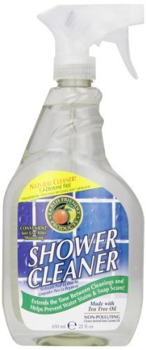 Earth Friendly Products Shower Cleaner with Tea Tree Oil MegaPack 22-Ounce Pack of 6