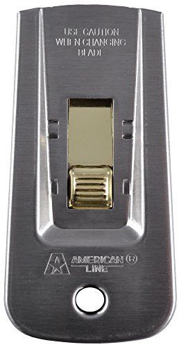 American Safety Razor 66-0445 Heavy-Duty Window Scraper with 5 Blades by American Safety Razor
