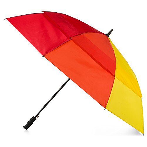 totes Automatic Windproof Water Resistant Umbrella