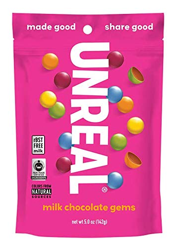 Unreal - Milk Chocolate Gems - 5 oz.