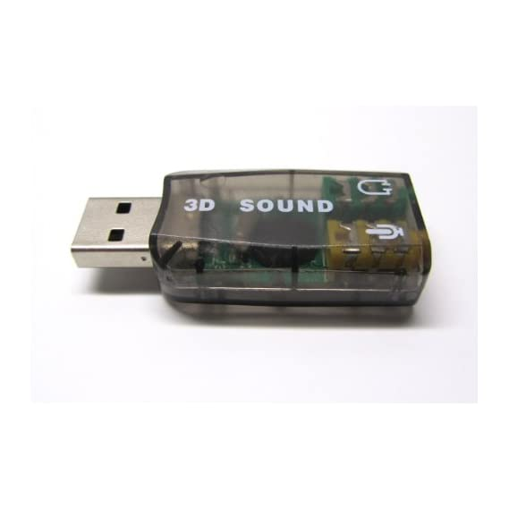 Shoponix USB to 3.5 mm Headphone and Mic 7.1 External Sound Card Adapter for Laptop, PC, Mac with Mic,Headphone & Volume