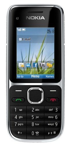 2f131cb0343 Nokia C2-01 Sim Free Mobile Phone 3G - Black  Amazon.co.uk  Electronics