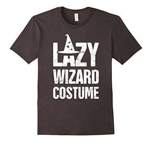 Mens LAZY WIZARD COSTUME | Renaissance Festival T-Shirt 2XL Asphalt (Costumes For Renaissance Festival)