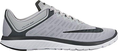 Men's Nike FS Lite Run 4 Running Shoe Wolf Grey/Black/Anthracite/White Size 8 M US (Size 8 Men Red Nike Running Shoes)