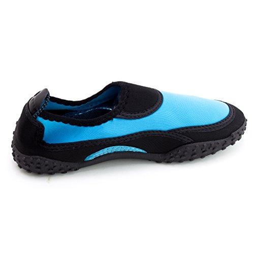 Donna Allaperto Spiaggia Piscina Creek Acqua Scarpe (adulti) Blu