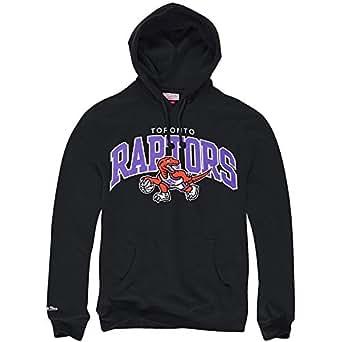 Mitchell & Ness Toronto Raptors Team Arch Hoody Hoodie Black Sweater