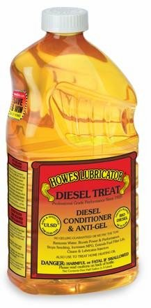Howes Diesel Treat, Diesel Conditioner and Anti-gel - 6/64oz bottles
