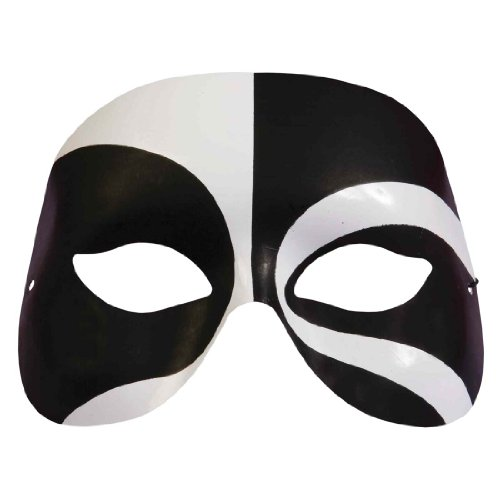 Black and White Voodoo Mask (Voodoo Mask)
