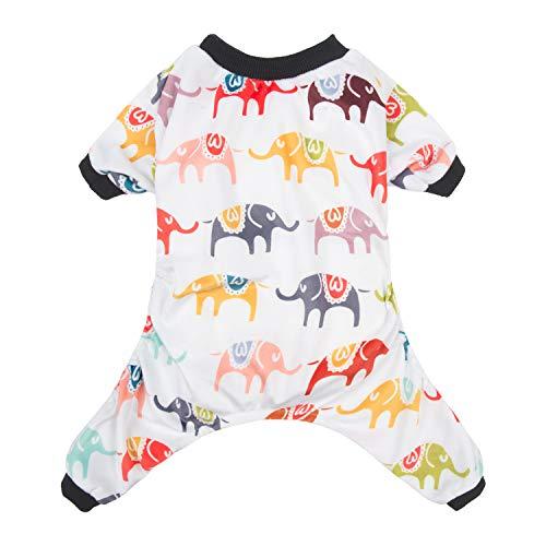 (CuteBone Dog Pajamas Elephant Dog Apparel Dog Jumpsuit Pet Clothes Pajamas P03S)