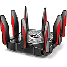 TP-Link AC5400 Tri Band Gaming Router with MU-MIMO, 1.8GHz Quad-Core 64-bit CPU