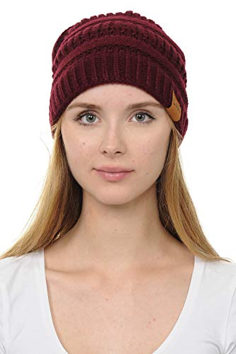 c45604f1228 Jual LoveInStyle Chunky Cable Knit Beanie for Women -