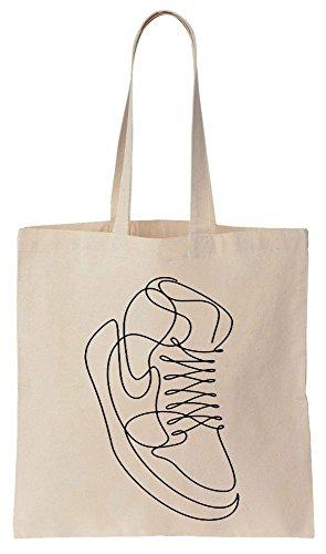 Tote Bag In Tela Di Cotone Con Tote Bag In Cotone E Tela Di Design