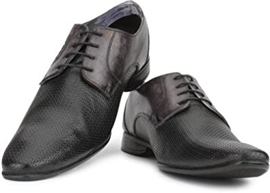 04868e535f3 Provogue Corporate Casuals Shoe for Men(Black): Buy Online at Low ...