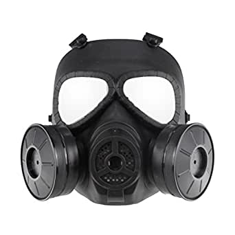UKCOCO Máscara antigás táctica Airsoft Máscara protectora
