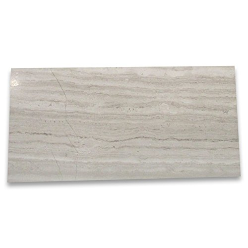Athens Silver Cream Haisa Light Marble 3x6 Subway Tile Polished - 200 ()