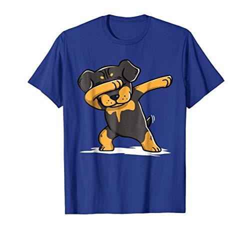 (Dabbing Rottweiler Halloween Tshirt Dab)