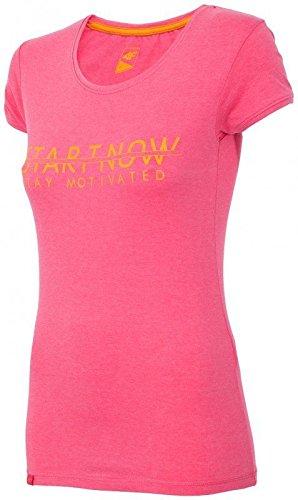 À 4f shirt Sports Courtes Gym Manches Tsd021 T fit nbsp;corail Top nbsp;f womens Active Fitness Dri 4 rzqFzt