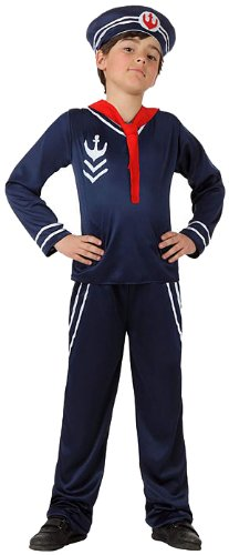 Atosa Tamaño traje marinero - 7 / 9y.o. niño: Amazon.es ...