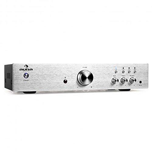 65 opinioni per auna AV2-CD508, Amplificatore HiFi, Argento
