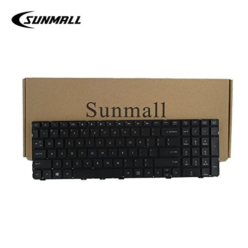 SUNMALL Keyboard Replacement Without Frame Compatible with HP ProBook 4530S 4535S 4730S 4735S Series Black US Layout