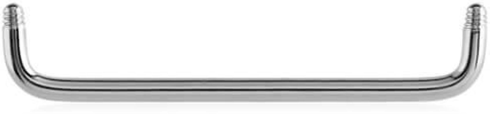 Micro agrafe Titane 90 degrés 1.5mm avec boules
