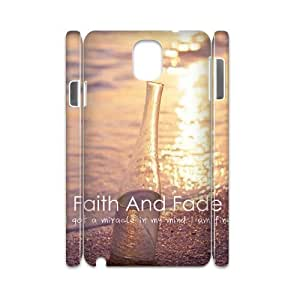 Chinese Faith and Fade DIY 3D Cell Phone Case for Samsung Galaxy Note 3 N9000,customized Chinese Faith and Fade Phone Case