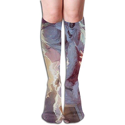 職業暗記する王族遺跡の王子 3D印刷デザイン 女性の男性 秋と春 フリースタイルのデザインソックス ファッションかわいい 弾性 薄型 靴下 高校生 ティーンエージャー フォーシーズンズ