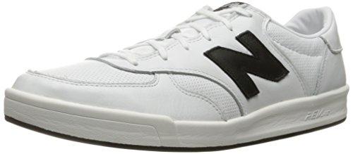 competitive price d89e5 dfa7f New Balance Men s CRT30, White Black, 14 D US
