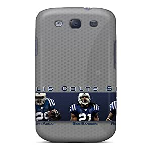 Durable Indianapolis Colts Back Case/cover For Galaxy S3