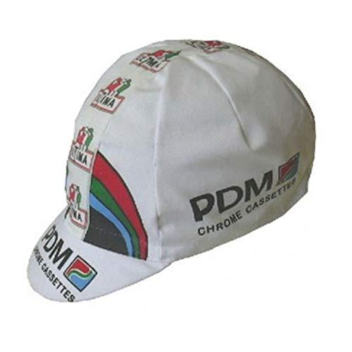 - APIS PDM Vintage Cotton Cycling Cap - Bicycle Cap Outdoors Anti Sweat White