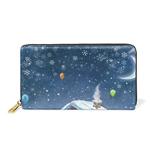 purses handbags tizorax zip christmas and around clutch wallet and year merry happy new womens organizer - Christmas Purses Handbags