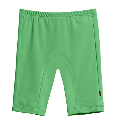 City Threads Big Boys' and Girls' SPF50+ Swim Jammer Swimming Shorts Swim Bottoms Briefs With Sun Protection SPF For Beach Pool or Play, Elf Green, 12