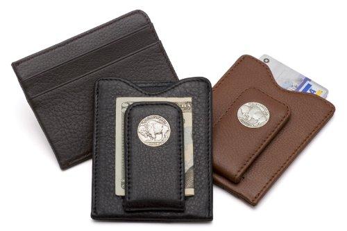 Tokens-Icons-Buffalo-Nickel-Money-Clip-Credit-Card-Wallet-80B-P