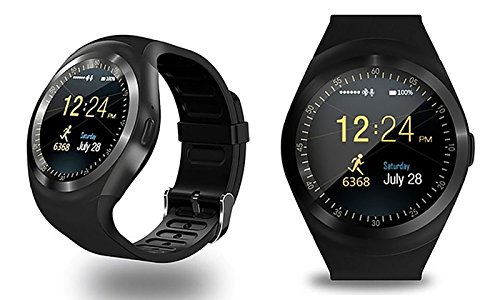 Bluetooth Smart Watch, Classic Round IPS Touch Screen ...