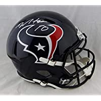DeAndre Hopkins Houston Texans Signed Autograph Speed Full Size Helmet JSA Witnessed Certified photo